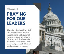 pray 4 leaders